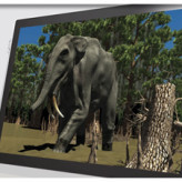 Dual Touch Open Frame Display